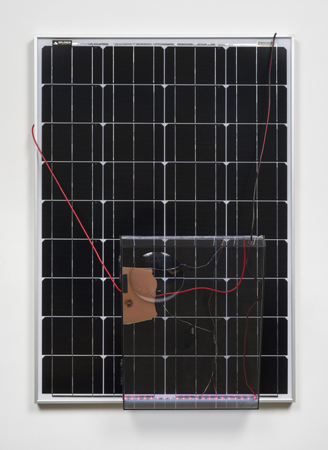 Haroon Mirza, 'Solar Powered LED Circuit Composition 27 (Liberty Cap)', 2015, Häusler Contemporary