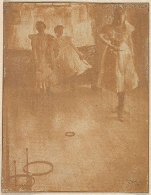 Clarence H. White, 'The Ring Toss', 1899, The Metropolitan Museum of Art