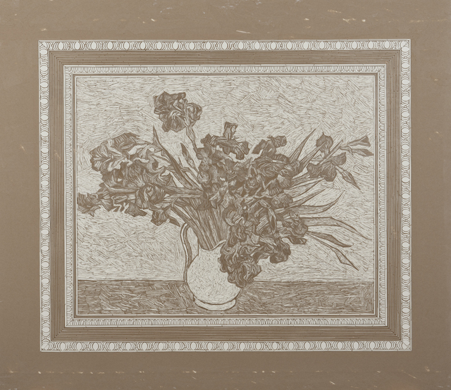 , 'Irises by Vincent Van Gogh,' 2019, Bernice Steinbaum Gallery