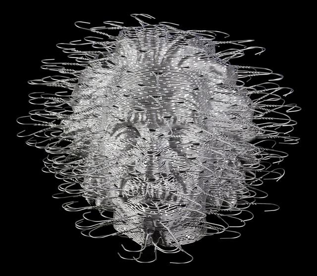 David Mach, 'Einstein Head', 2011, Eternity Gallery