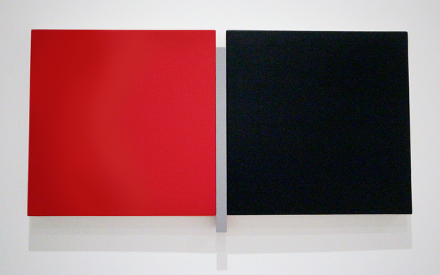 , 'Un Deux Trois Red, Gray, Black,' , Peter Blake Gallery