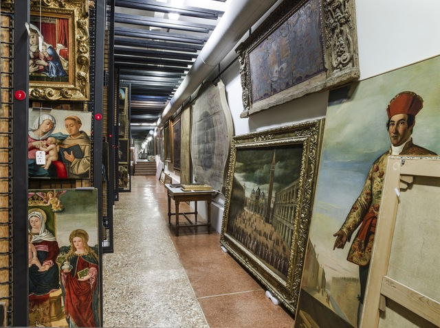 , 'Treasure Rooms of the Museo Correr - Venice,' 2015, Robert Mann Gallery