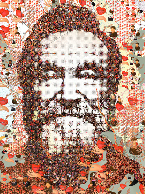 Tom Tor, 'Robin Williams', 2018, Print, Serigraph, Themes+Projects