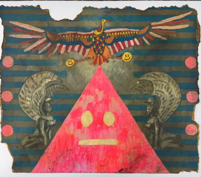 , 'Birth of the Smiley Face Pyramid,' , Ro2 Art