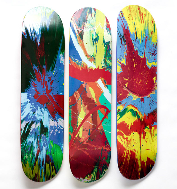 Damien Hirst, 'Set of Three Supreme Skateboards', 2009, MSP Modern