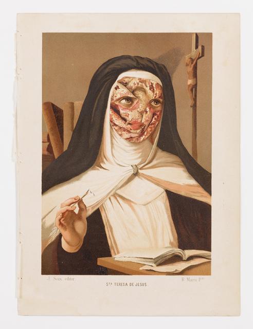Dr. Lakra, 'Untitled (Sta. Teresa de Jesús)', 2013-2014, kurimanzutto