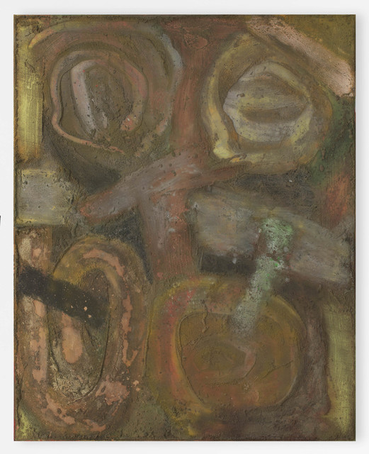 Bill Jensen, 'UNTITLED', 1972, Painting, Oil and sand on canvas, Cheim & Read