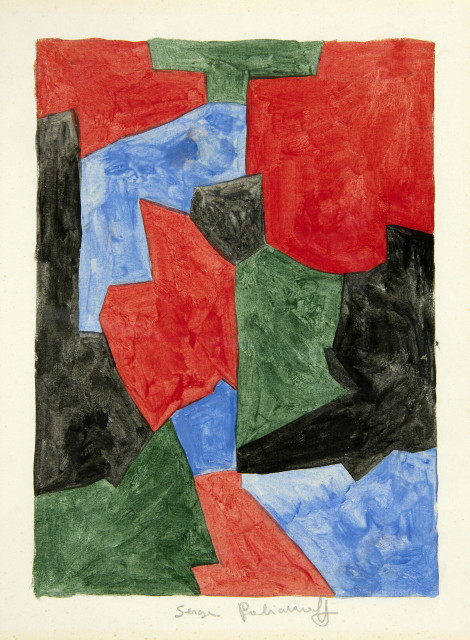 Serge Poliakoff, 'Composition abstraite', 1963, BAILLY GALLERY