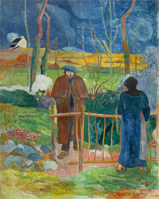 , 'Bonjour, Monsieur Gauguin,' 1889, Alte Nationalgalerie