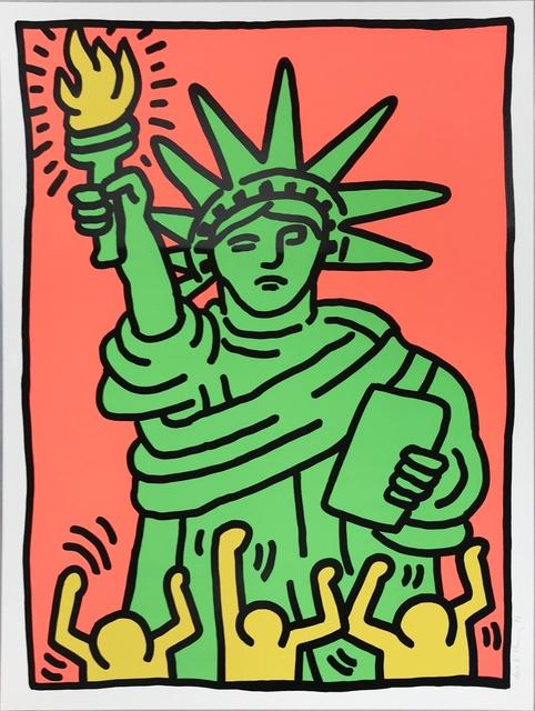 Keith Haring, 'Statue of Liberty', 1986, Upsilon Gallery