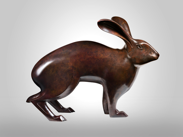 , 'Grand Belgian Hare,' 2011, Galerie Dumonteil