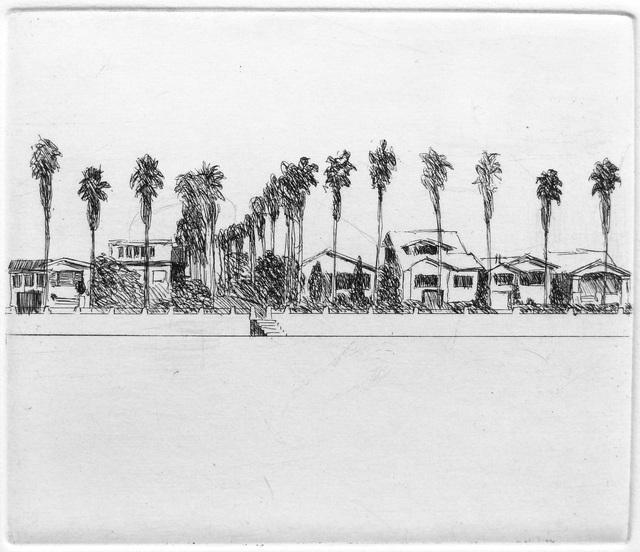 Robert Bechtle, 'View of Alameda', 1967, Crown Point Press