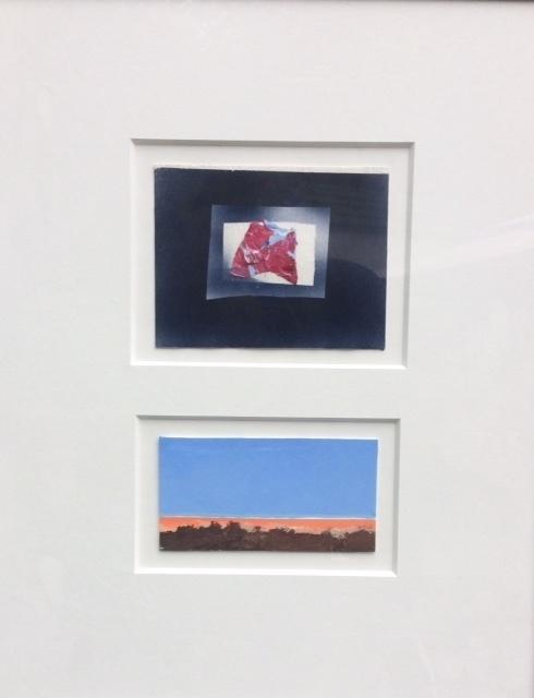 James Brantley, 'Travelers Series #1', 2000, Mixed Media, Acrylic on rag board, Rush Philanthropic Arts Foundation Benefit Auction