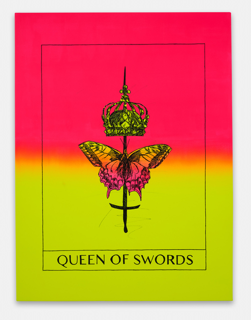 Mieke Marple, 'Queen of Swords (Independence)', 2020, Painting, Acrylic on canvas, Ever Gold [Projects]