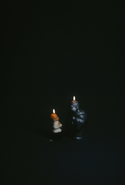 , 'Two Candles,' 1997, Hosfelt Gallery