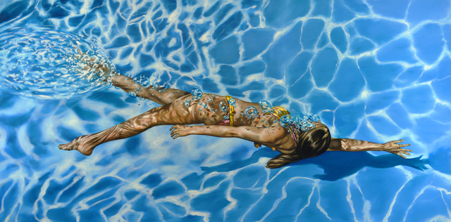 , 'Blue Velvet,' 2018, Gallery Henoch