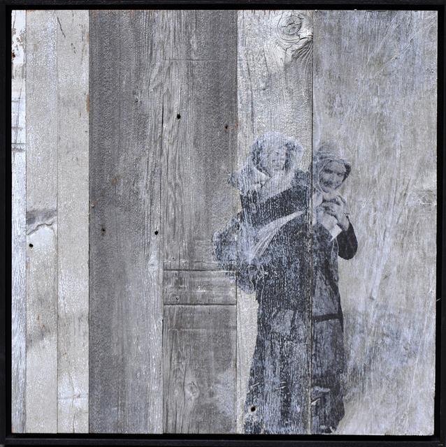 , 'Unframed, Arriving on Ellis Island #4, U.S.A., 2014,' 2014, Lazinc