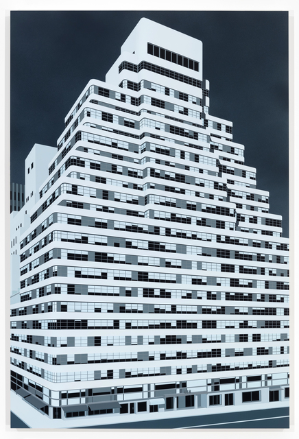 , 'Look Building, NYC,' 2018, Peter Blum Gallery