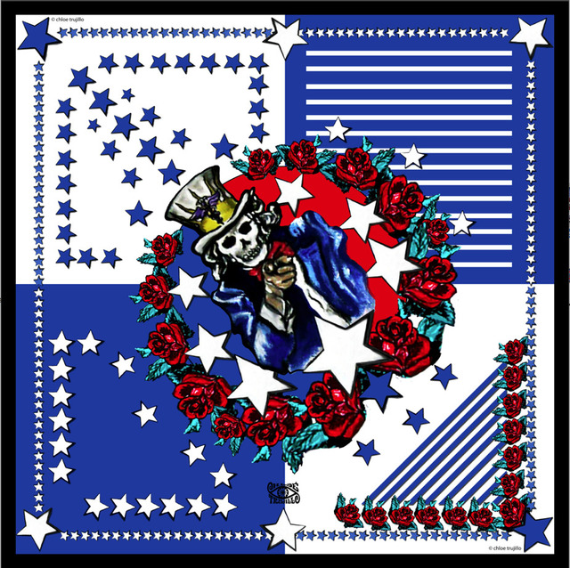 , 'America (Blue),' , Imitate Modern