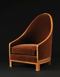 Émile Jacques Ruhlmann, 'A Rare Bergère, model AR 8 and NR 228, variant,' circa 1913, Sotheby's: Important Design