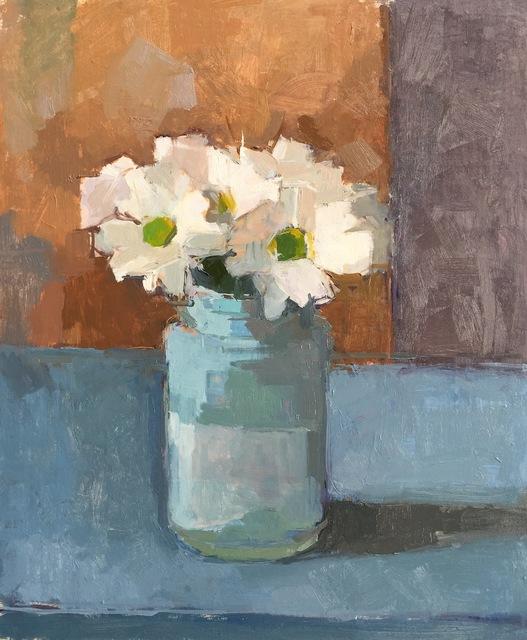 , 'White Daisies,' 2017, Sarah Wiseman Gallery