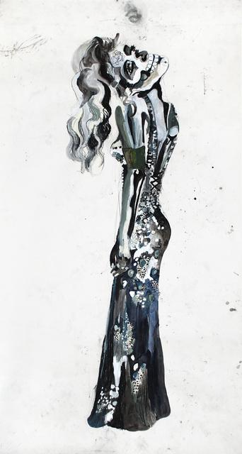 , 'Untitled(vrouw met doodshoofd),' 2007, Akinci