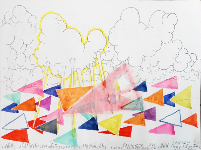 Klaas Vanhee, 'Untitled (Der Pussy Ist Immer Farbiger Auf Den Anderen Seite)', 2018, Galería silvestre