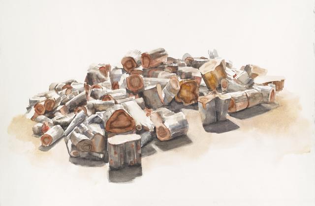 , 'Cut Wood (Burke Gilman Trail),' 2015, G. Gibson Gallery