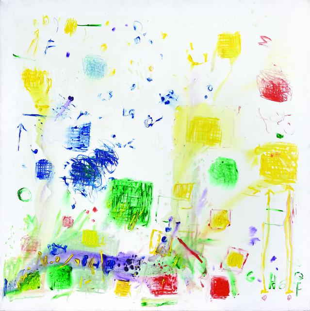 , 'Manchas azules,' 2010, Galeria Sur