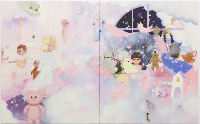 Tomoko Nagai, 'It might be true', 2012, Painting, Oil, glitter on canvas, Tomio Koyama Gallery