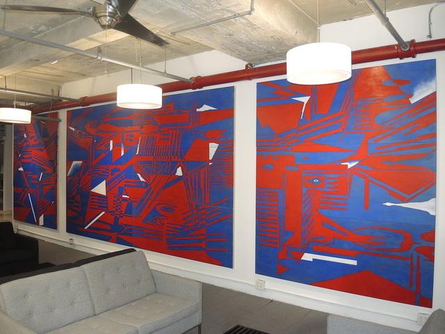 , 'Lava Vectors,' 2014, IFAC Arts