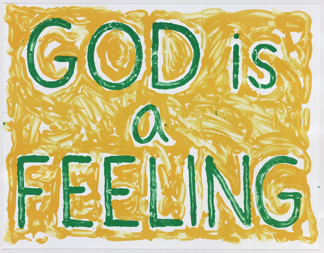 , 'God is a Feeling,' 2010, Gemini G.E.L. at Joni Moisant Weyl
