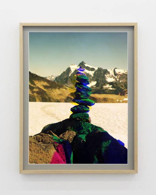 Peter Funch, ' Variation of Cairn on Ptarmigan Ridge with Mt. Shuksan in Background (C)', 2014, V1 Gallery