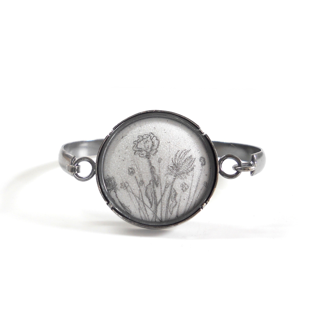 , 'Dried Flowers Tension Cuff,' , Facèré Jewelry Art Gallery