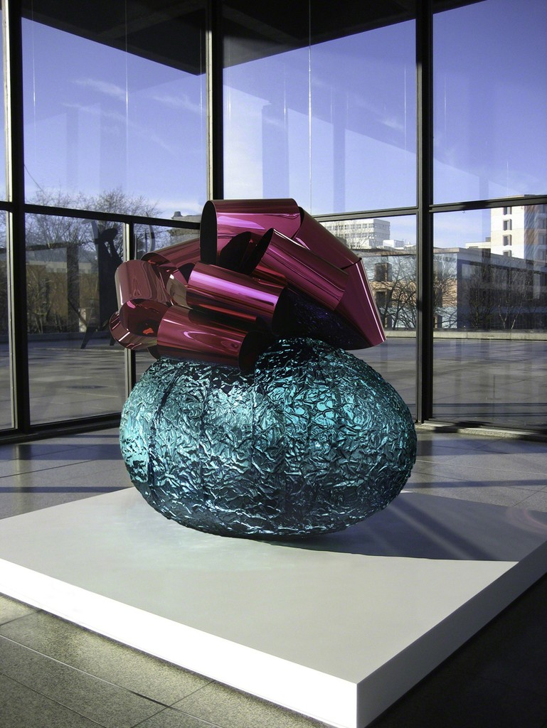 Jeff Koons, 'Baroque Egg with Bow (Turquoise/Magenta),' 1994-2008, Gagosian