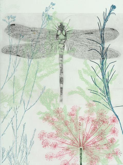 , 'Dragonfly and pink euphorbia,' 2019, Queenscliff Gallery & Workshop