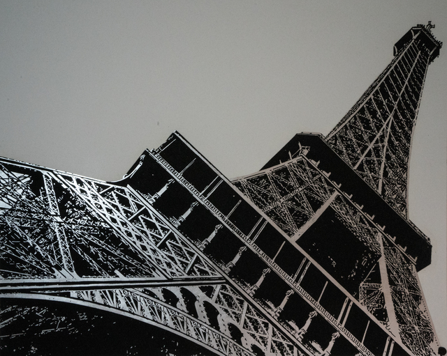 , 'Eiffel Tower Silver,' 2016, HG Contemporary
