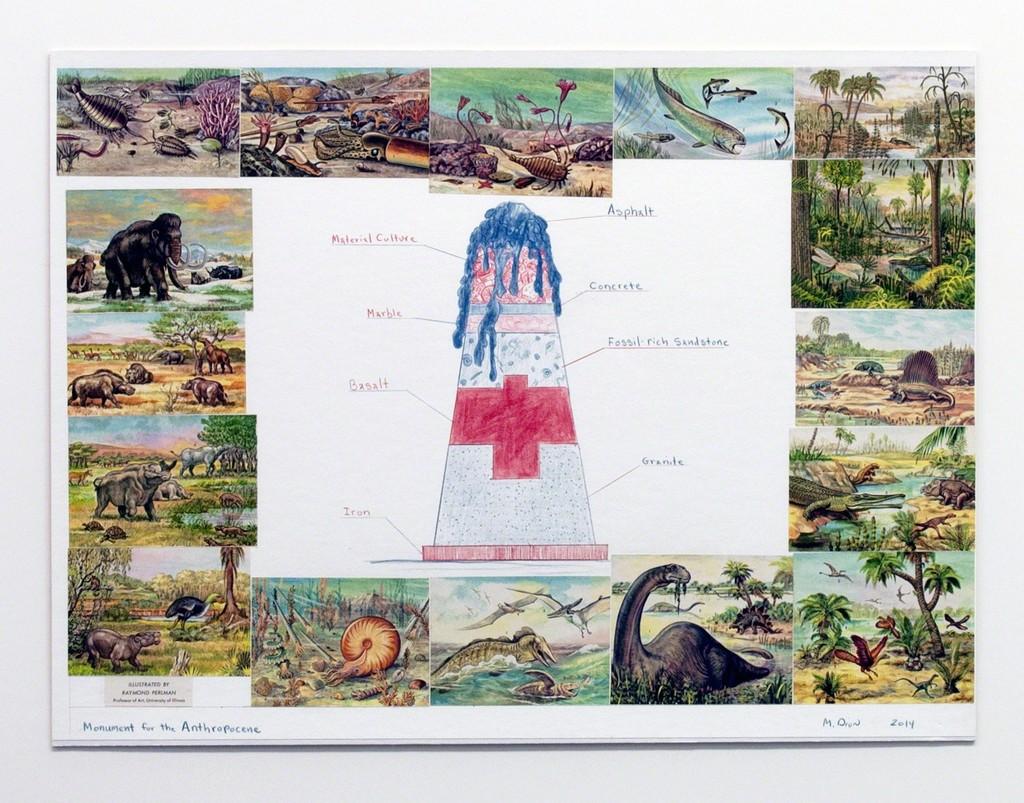 Monument fort he Anthropocene