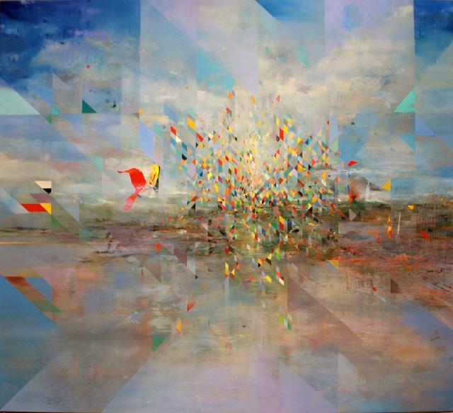 , 'Pine Ridge, Wounded Knee (East),' 2016, Kiechel Fine Art