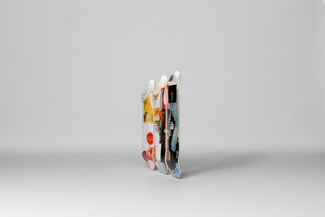 Robert Rauschenberg, 'Overdrive Skateboard Decks', 2017, Sculpture, 7-ply Canadian Maplewood with screen-print, Artware Editions