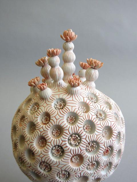 , 'koralo de sfera lotuso,' 2017, Rhona Hoffman Gallery