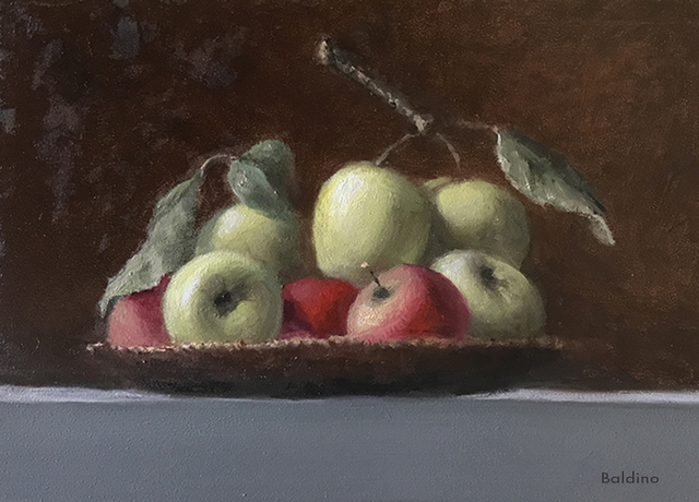 , 'Small Bunch of Apples,' 2019, The Galleries at Salmagundi