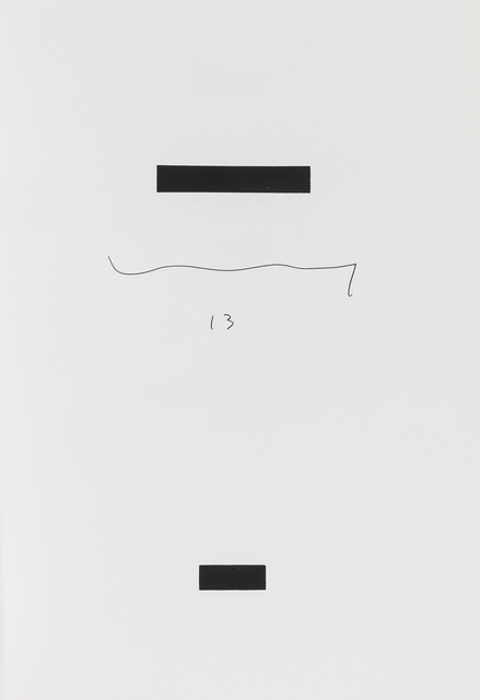 Jacob Kassay, 'Untitled (Redacted Book)', 2013, Forum Auctions