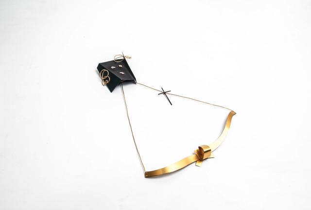 , 'brooch Veritatis Splendor,' 1993, Caroline Van Hoek