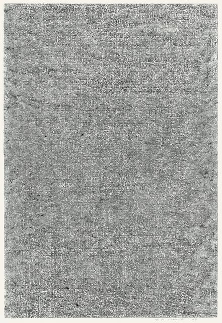 , 'Untitled B,' 1978, Wellside Gallery