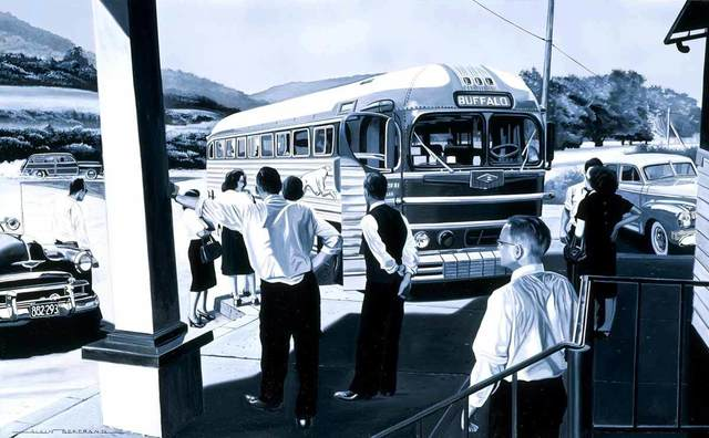 , 'Bus Station,' , Catto Gallery
