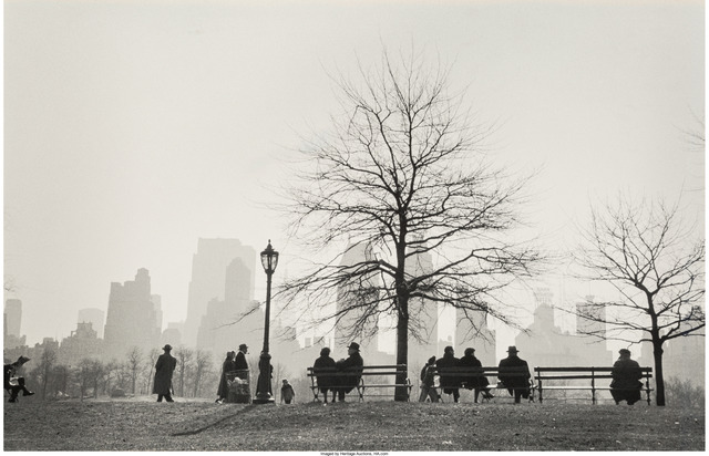 Ruth Orkin, 'Central Park South, silhouette, NYC', 1955, Heritage Auctions