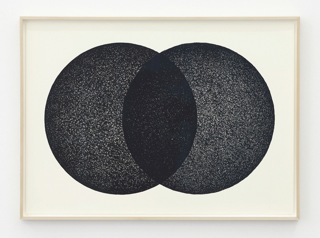 , 'Two Circles,' 2014, i8 Gallery