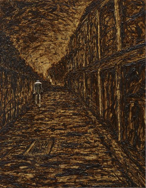 , 'Walking in the Alley Alongside the Railway,' 2016, Mind Set Art Center