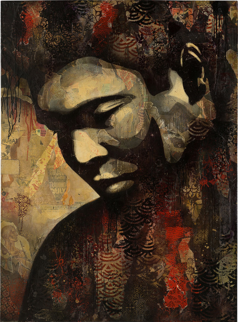 Shepard Fairey, 'Ali (2)', 2010, Phillips